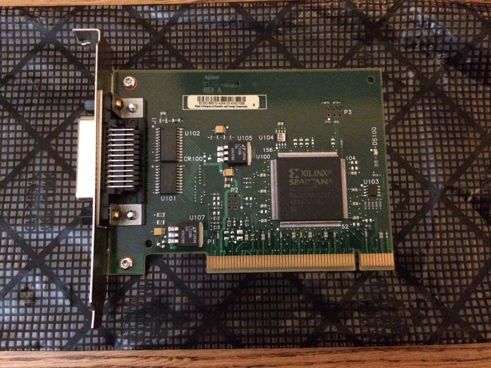 Used Hewlett Packard 1090 Hplc Parts 1090m 1090l Series Ii Wiring Diagram Hp 82350b Pci 791543 Bytes